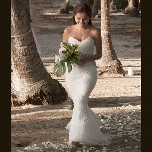 "Nicole Miller ""Poppy"" Wedding Gown"